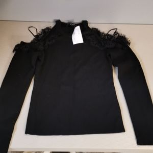 INTERMIX EXCLUSIVE LONG SLEEVE BLOUSE